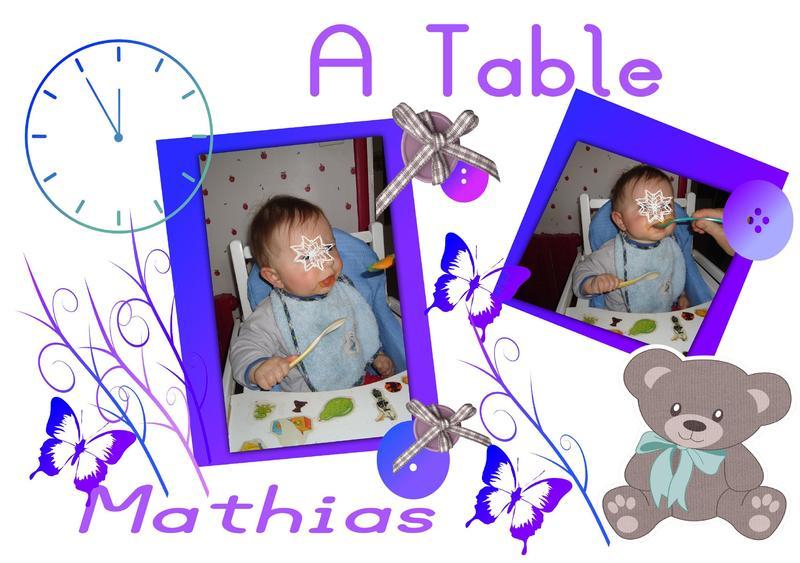 Activite set de table - Activite manuelle set de table ...